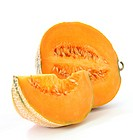 Orange cantaloupe watermelon _ north america melon type