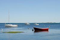 Lagune, Binnenmeer, La Manga, Mar Menor, Murcia, Spanien