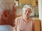 Germany, Cologne, Senior couple in nursing home (thumbnail)