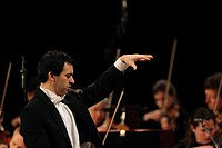 Concert of the Music Institute Koblenz with the SWR Symphony Orchestra Baden_Baden and Freiburg, conductor Alejo Pérez, Koblenz, Rhineland_Palatinate,...