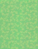 Faded Jade Faint Floral print on Ribbed Paper Background