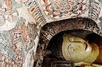 Burma, Myanmar, Monywa, Po Win Daung caves, troglodytics temple dated 14 th  century