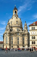 Dresden Frauenkirche Cathedral, Saxony, Germany