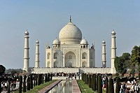 Taj Mahal Tomb, UNESCO World Heritage Site, Agra, Uttar Pradesh, India, Asia