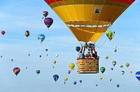 HotAir Balloon Festival Warstein Germany