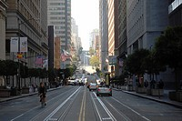 Traffic in San Francisco, California, USA, America