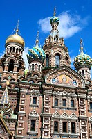 The Russian cathedral in summer, St. Petersburg