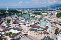Historic Centre of the City of Salzburg, One of the UNESCO World Heritage Sites in Europe