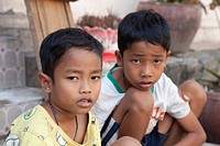 Children in Phnom Penh, Cambodia, Asia