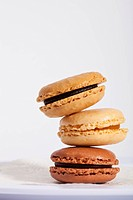 French macarons are also sometimes known as macaroons.