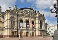 Opera, Kiev, Ukraine, Europe