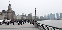 The Bund skyline, Shanghai, China