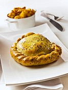 Lamb pasty with mint England