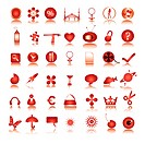 special red icons collection