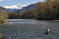 Going Fishing Skagit River North Cascades National Park Washington Northwest