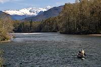 Going Fishing Skagit River North Cascades National Park Washington Northwest
