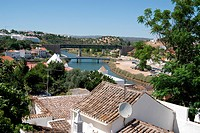 View on Tavira, Portugal