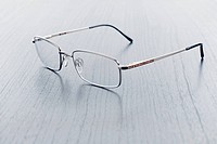 image of classic glasses on the table
