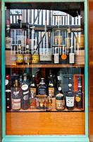 shop window display, Honfleur, Normandy, France