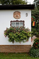 Germany, House with garden