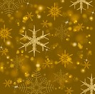 Beautiful gold shiny Christmas background