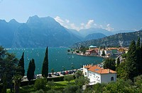 Torbole on Lake Garda, province of Trento, Trentino, Italy, Europe