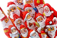 Chocolate Santa Clauses, Santas