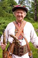 Man In Traditional Dress In Kiev, Ukraine.