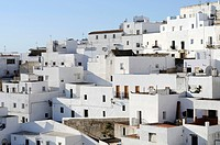 White village of Vejer de la Frontera, Cadiz Province, Andalusia, Spain, Europe