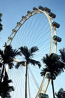 Asia Singapore The Singapore Flyer, one of Singapore's newest attractions Adrian Baker