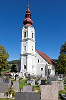 Church in Obdach, Styria, Austria, Europe