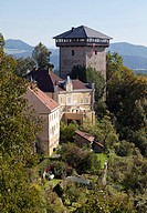 Annenturm tower in Althofen, Carinthia, Austria, Europe