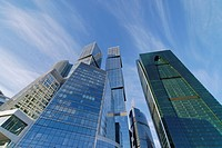 Skyscrapers of the Federation Complex, Moscow, Russia