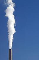 power plant emissions to the atmosphere
