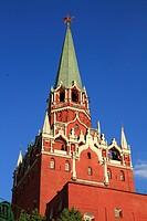 Der Dreifaltigkeitsturm des Moskauer Kremls