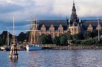 Sweden, Stockholm. Waterfront
