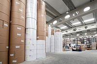 Industrial printing, manufacturing and storage indoor premise