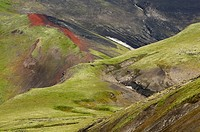 Tolbachik volcano area on Kamchatka