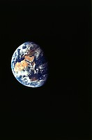 Earth From Apollo 11, Showing Africa, Europe, And Asia.