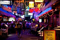 Gay Bars in Bangkok at Night