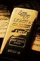 Gold Kilos. Leach & Garner Refining, Attleboro, Massachusetts