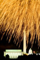 Fireworks in Washington D.C