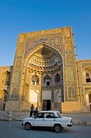 Uzbekistan, Bukhara, Abdulaziz Chan Khan, Madrasah