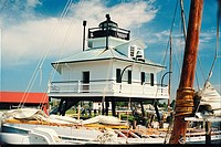 lighthouse located at HooperStraits, Maryland, United States