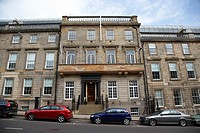 218 220 st vincent street 19th century terraced townhouse house glasgow scotland uk