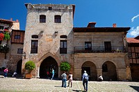 Palace in Santillana del Mar, Cantabria, Spain