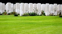Military Cemetery of the second world war in Belgium