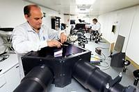 Low-resolution spectrograph  EDIFISE  Optical Laboratory, Instituto Astrofisica de Canarias IAC, La Laguna, Tenerife, Canary Islands, Spain