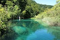 Naturpark Plievicer Seen Kroatien