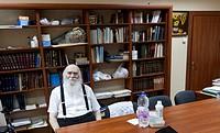 Rabbiner Salman Abelski, Oberrabiner der juedischen Gemeinden von Moldawien in Chisinau / Salman Abelski, Rabbie of Moldova in Chisinau / Foto: Robert...